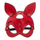 Dominate All-Stars Máscara de conejo para mujer y niña, máscara de decoración para fiestas de disfraces